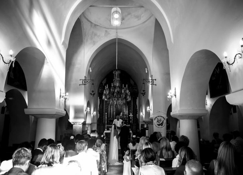 Beautiful Church for Destination Wedding in Naxos Island Greece