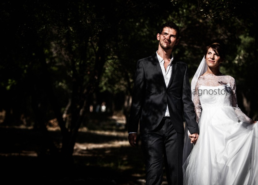 French Couple Wedding in Athens