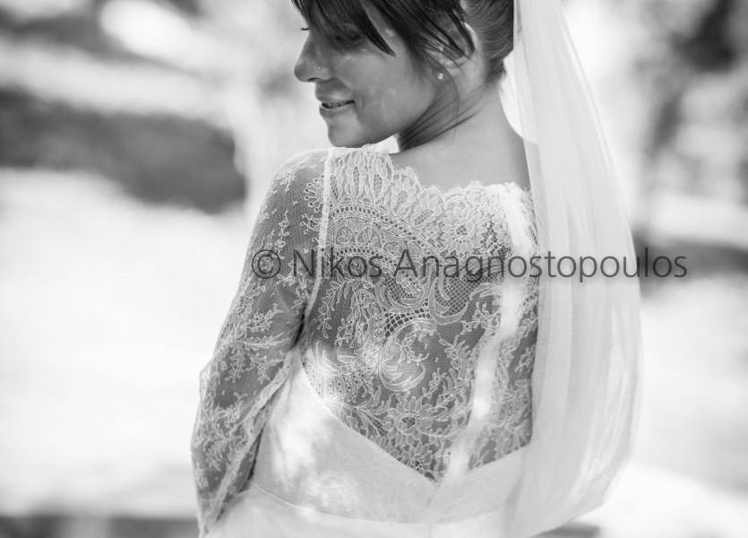 Lace Wedding Dress Back