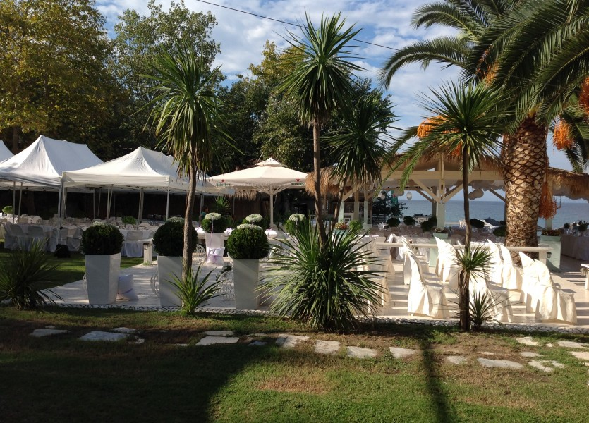 Beach Bar for Wedding in Chalkidiki