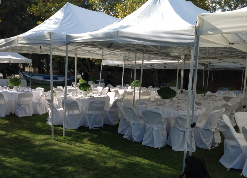 Wedding Reception with Tents in Chalkidiki