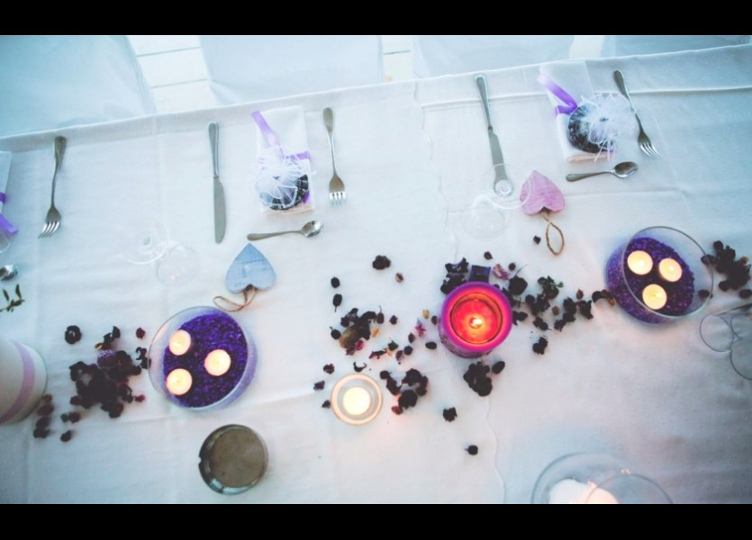 Beach Wedding Lavender Decoration