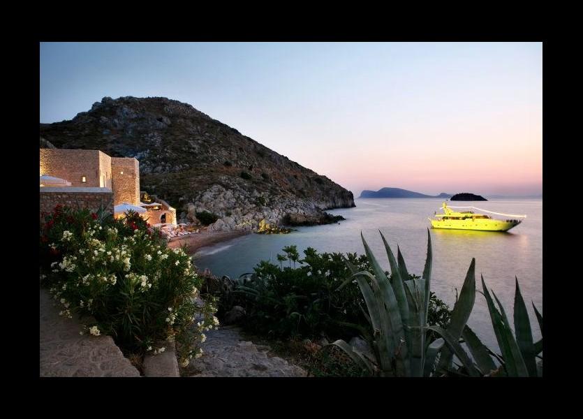 Small Greek island wedding