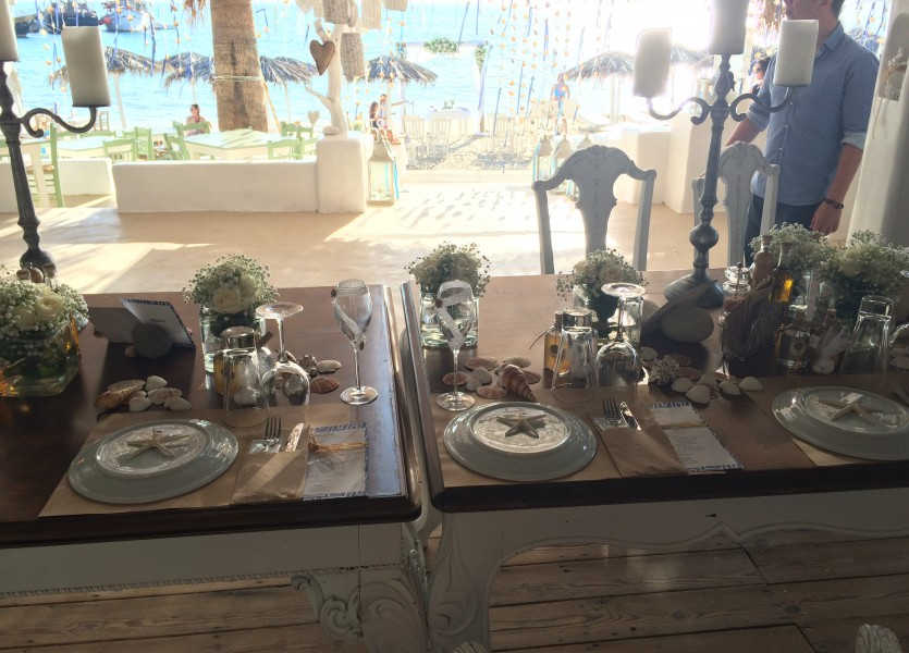 Beach Wedding Venue in Naxos