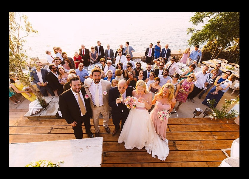 Civil Wedding in Hydra