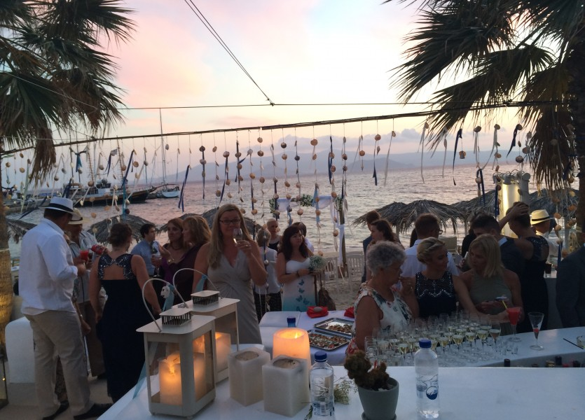 Wedding Reception in Naxos.