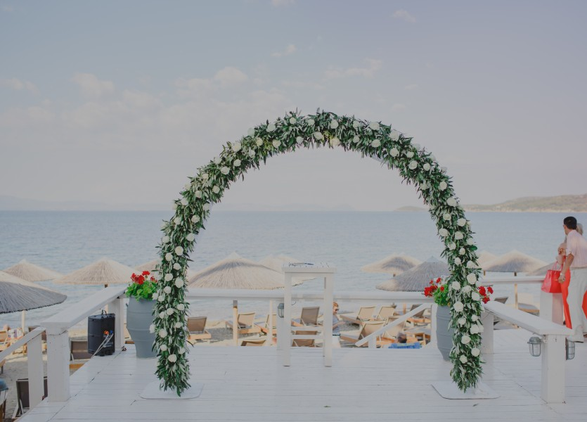 Beach Wedding Arch