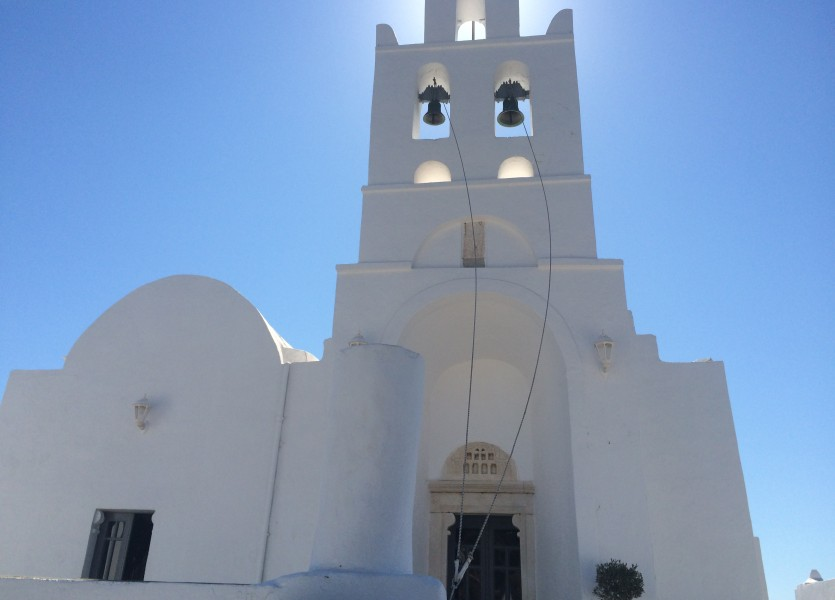 Virgin Mary Religious Church of Chrysopigi in Sifnos.