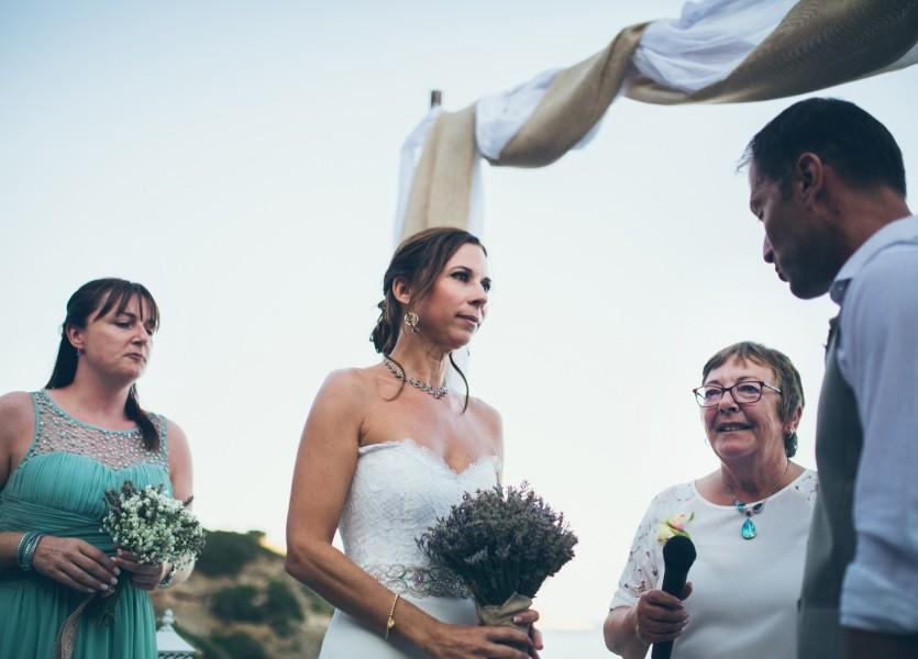 Civil Wedding in the Greek islands.