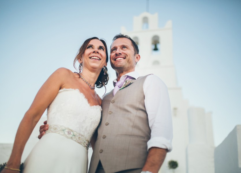 Wedding in Greece.