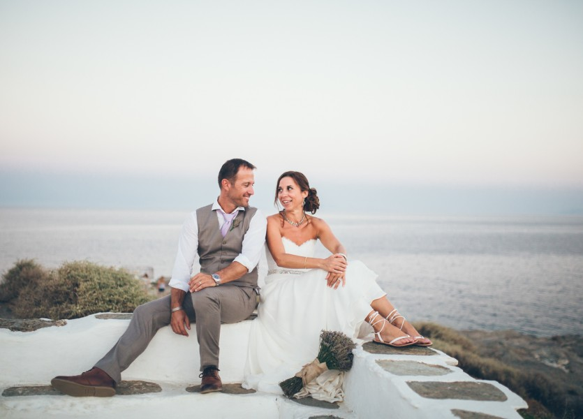 Wedding Photography in the Greek islands.