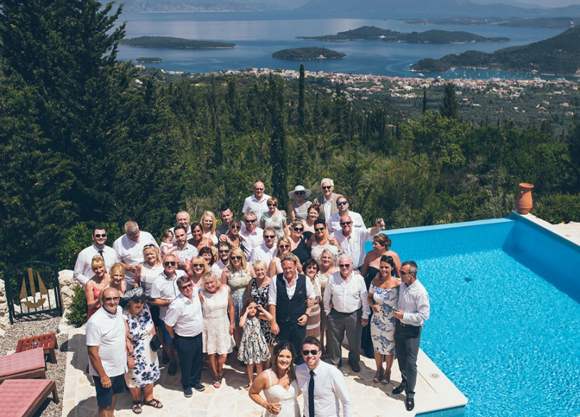 Wedding Villa in Lefkada