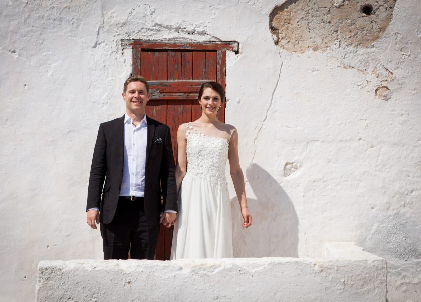 Old Castle Wedding Kythera.