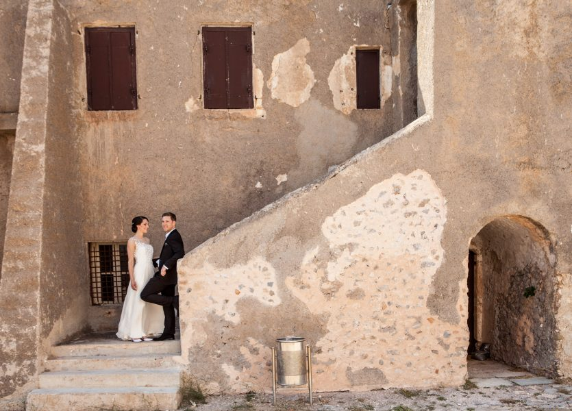 Castle for Wedding in Kythera.