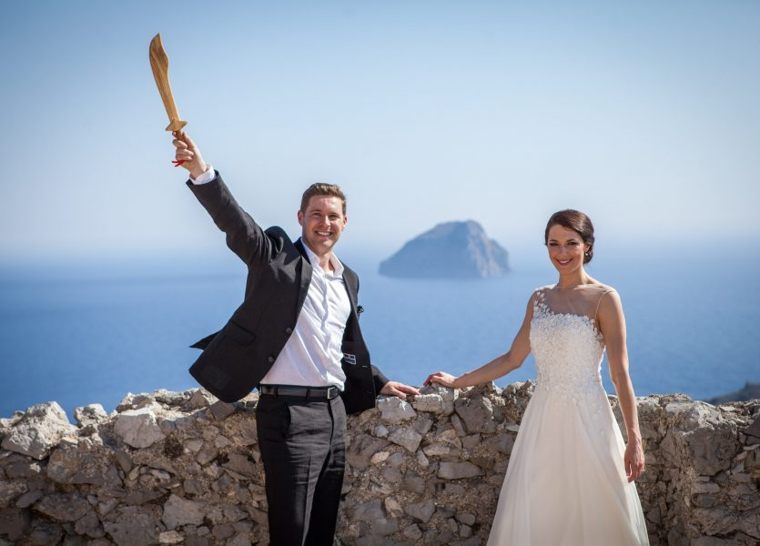 Wedding in Kythera.