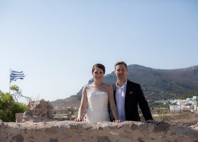Australian Wedding in Kythera