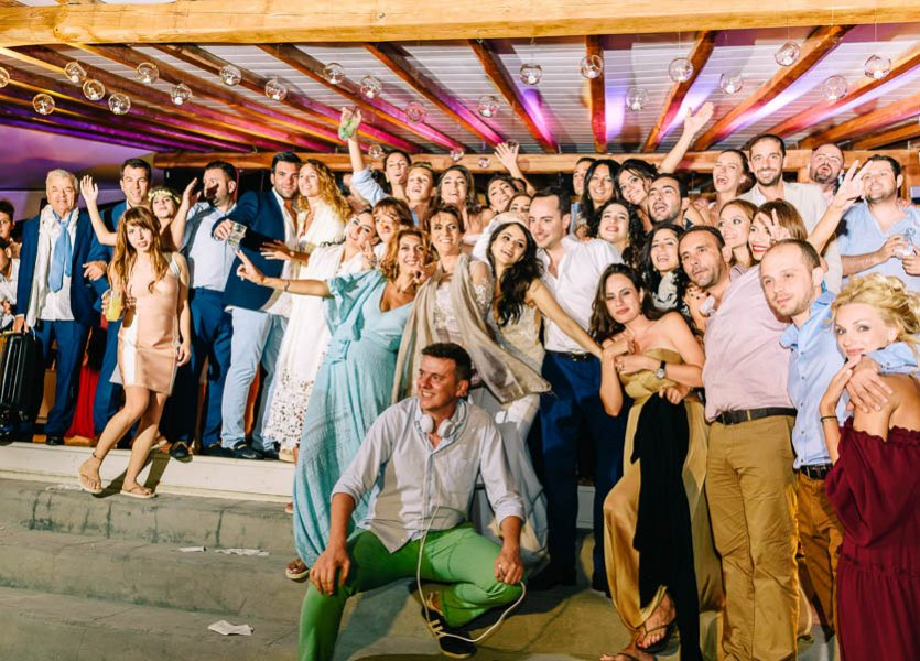 party weddings mykonos