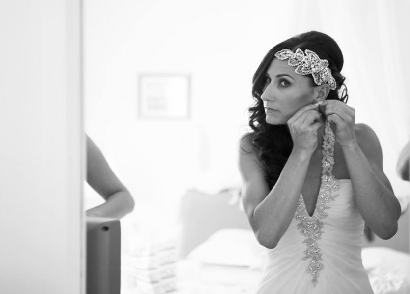 Preparation of the Bride in Black and White