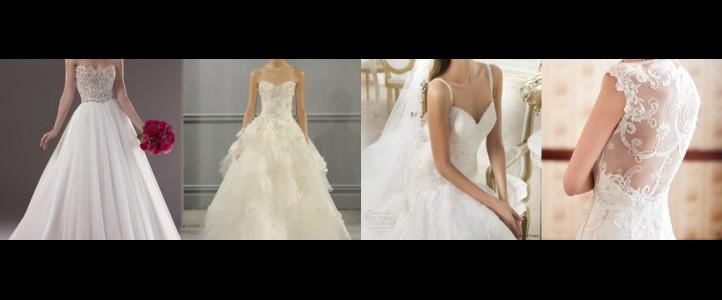 Λευκό Νυφικό Φόρεμα