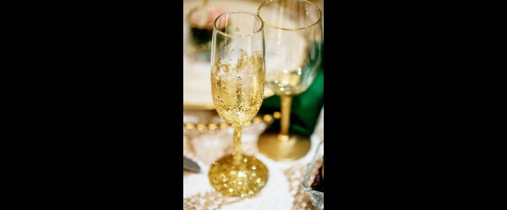 Why do we drink champagne on our wedding day?