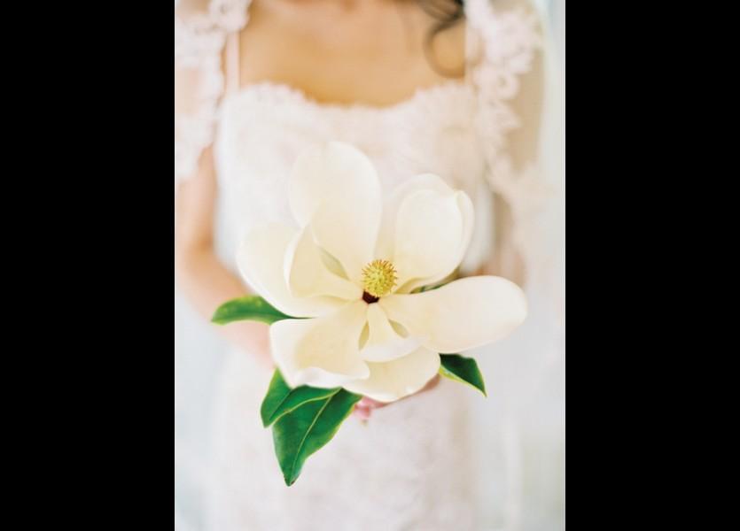 Magnolia Bridal Bouquet