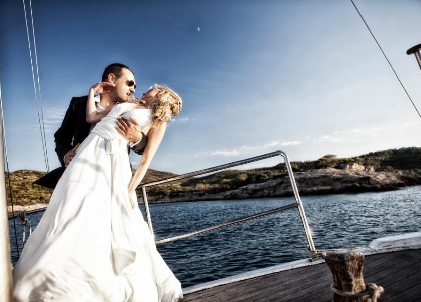 Spetses Beach Wedding