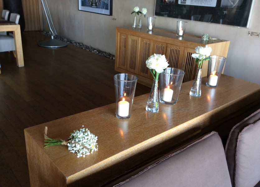 Candles, Flowers and Bouquets- Wedding in Athens