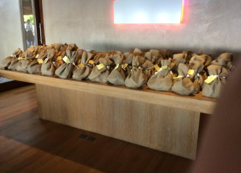 Burlap Bags for Wedding Favors