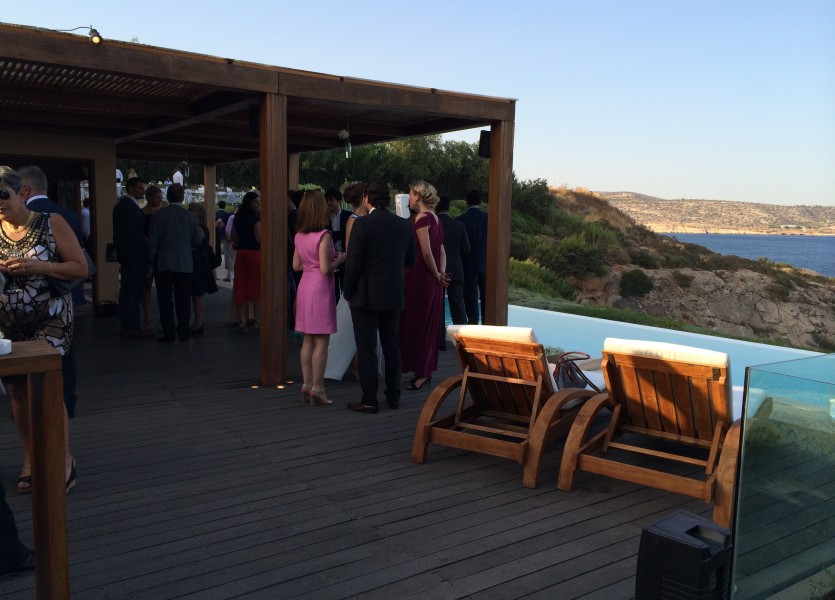 The Deck - Wedding Reception in Athens
