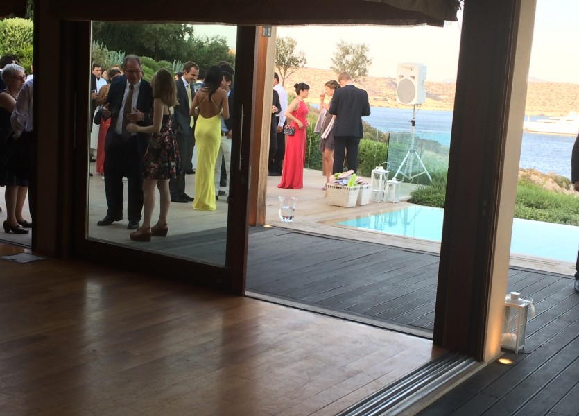 An overview of the Private House - Wedding in Athens