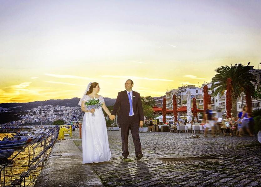 Wedding Photoshooting in Kavala