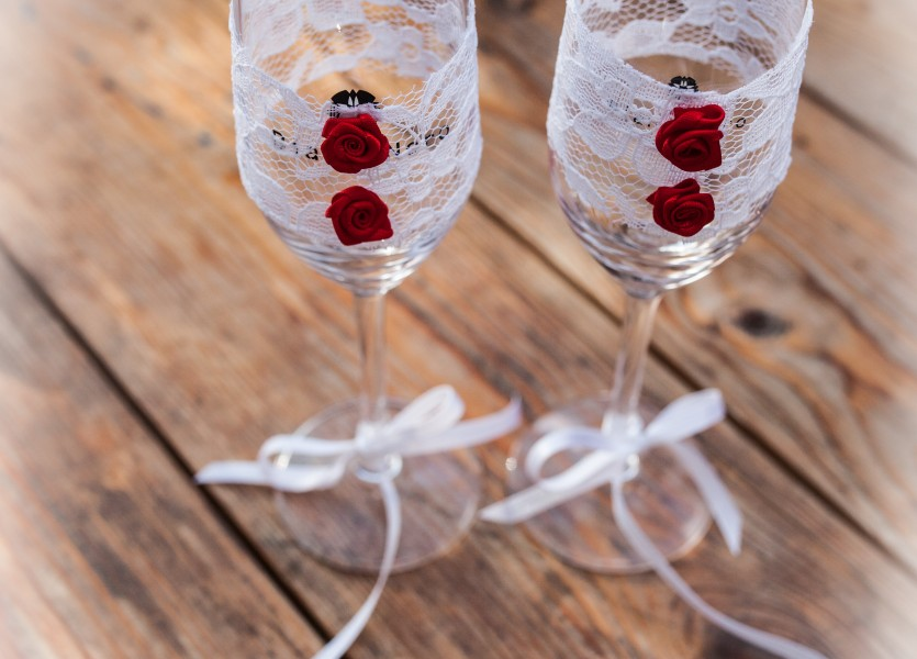 Champagne Glasses Greek Weddings