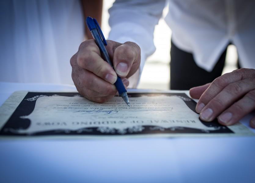 Vow Renewal Certificate