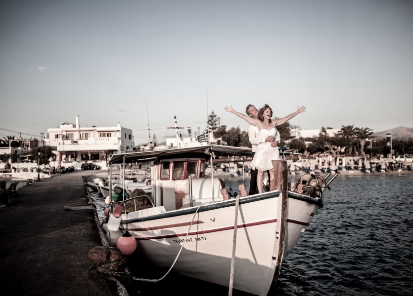 Wedding on Board Greece