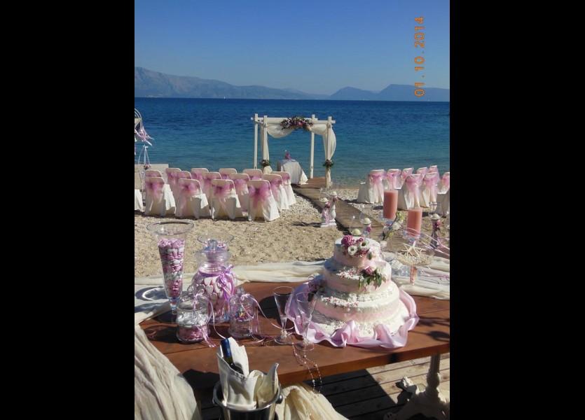 Beach Wedding Venue in Lefkas