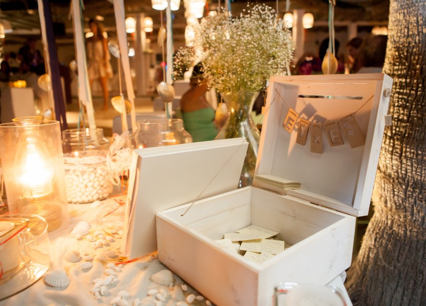 Wish Table Decoration Summer Wedding