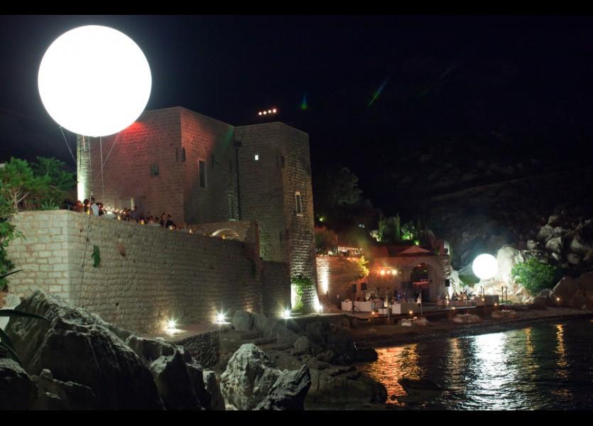 Greek island wedding venue
