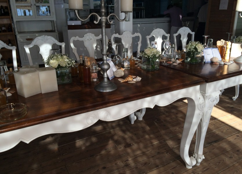Bridal Table in Naxos Wedding