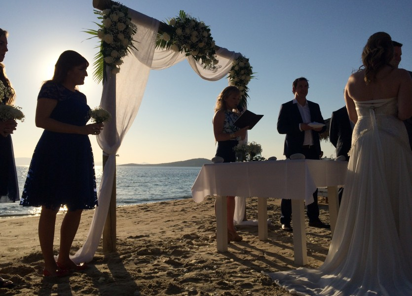 Australian Beach Wedding in Naxos