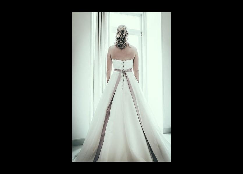 Beautiful Wedding Dress in Hydra Wedding