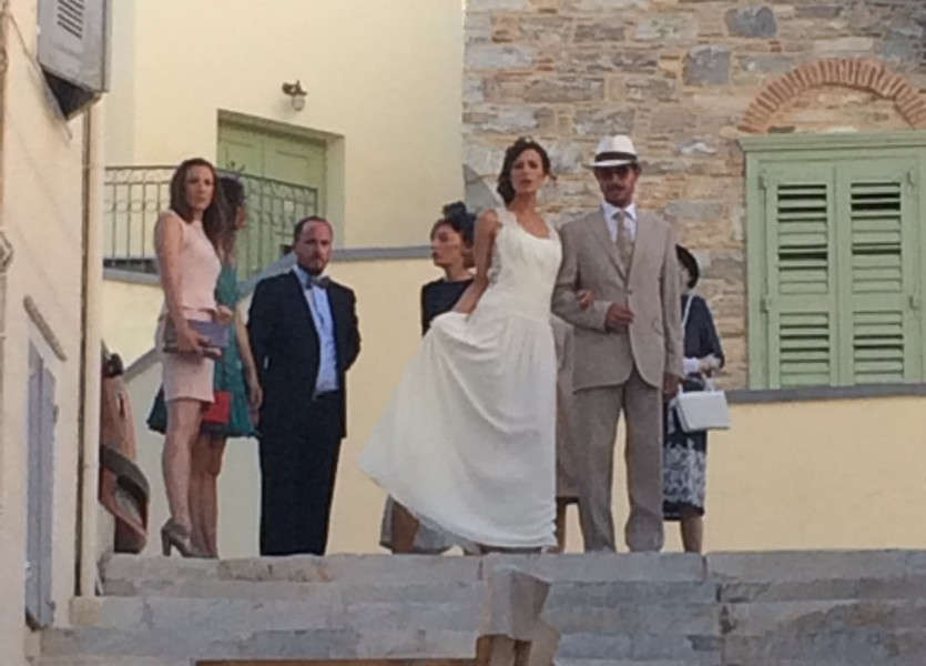 French Wedding in Syros