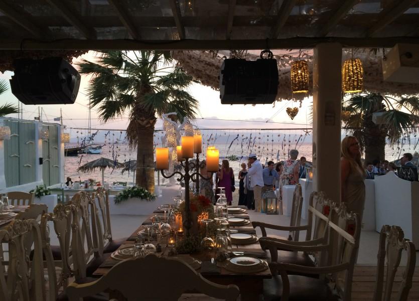 Beach Wedding Venue in Naxos.