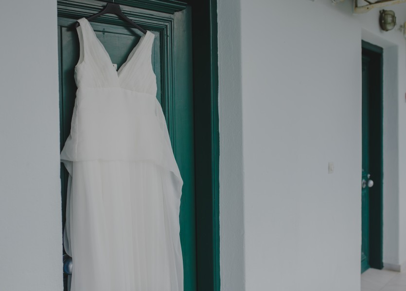 Wedding Dress Chalkidiki Wedding