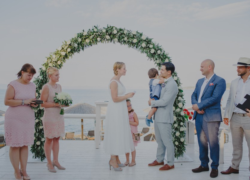 Civil Wedding in Chalkidiki
