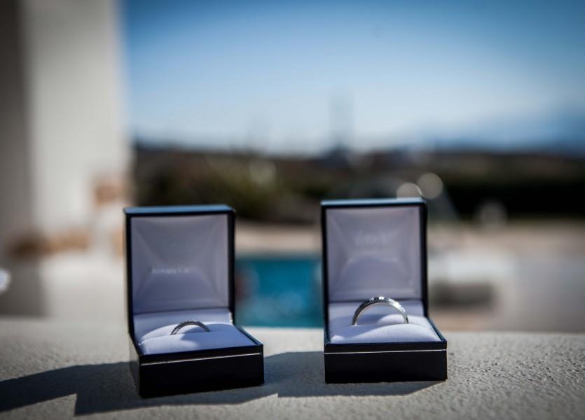 Wedding Rings. Greek Wedding Planner in Naxos.