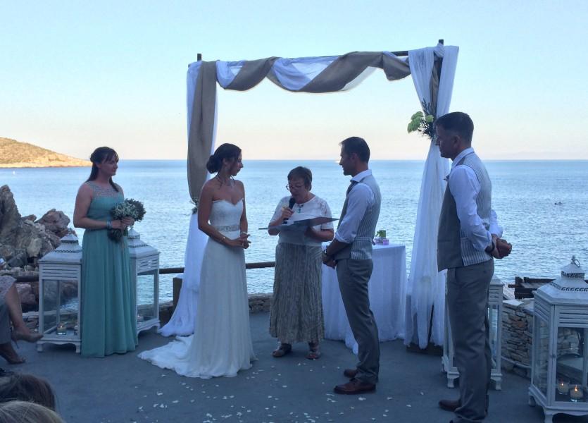 Wedding in Sifnos.
