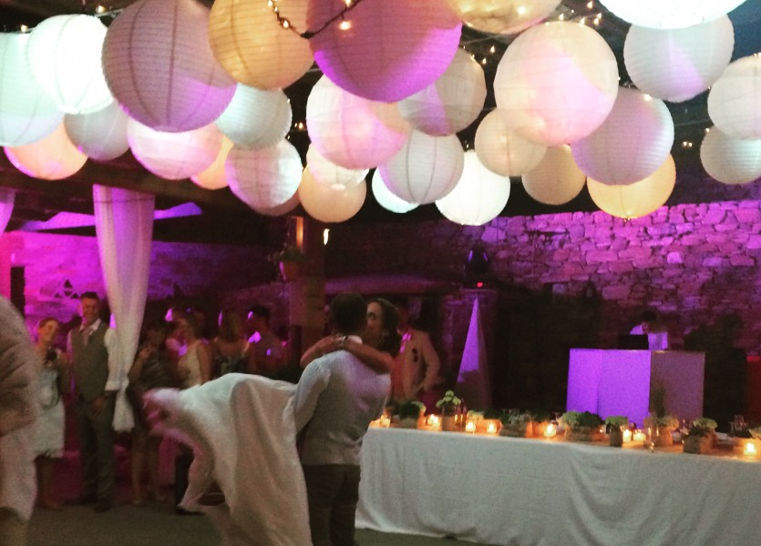 First dance in Sifnos Wedding.