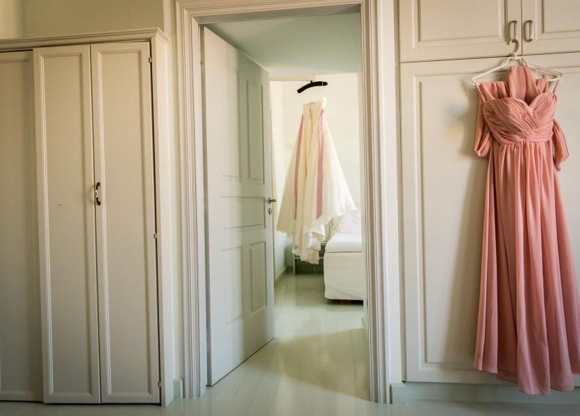 Wedding Dress in Hydra