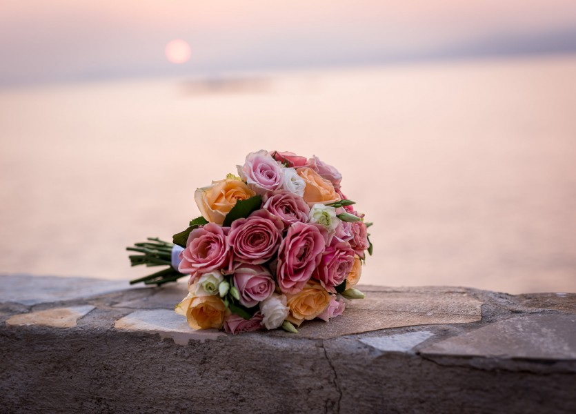 Wedding Bouquet Greece