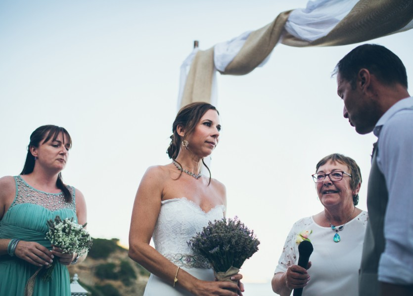 Civil Wedding in the Greek islands.
